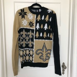 New Orleans Saints Sweater // Men's size M
